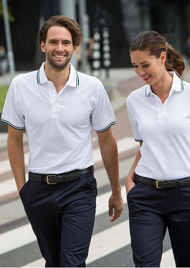 Picture of Men's Tipped Henbury Polo Shirt - HB450