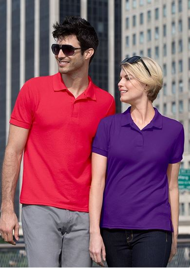 Picture of Women's DryBlend Jersey Polo Shirts - GD045