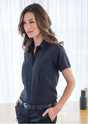 Picture of Women's Wicking Antibacterial Short Sleeve Shirt - HB596