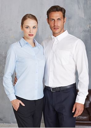 Picture of Men's Long Sleeve Easycare Oxford - KB533