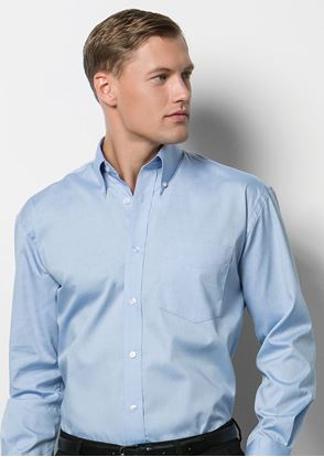 Picture of Men's Corporate Oxford Shirt Long Sleeved - KK105