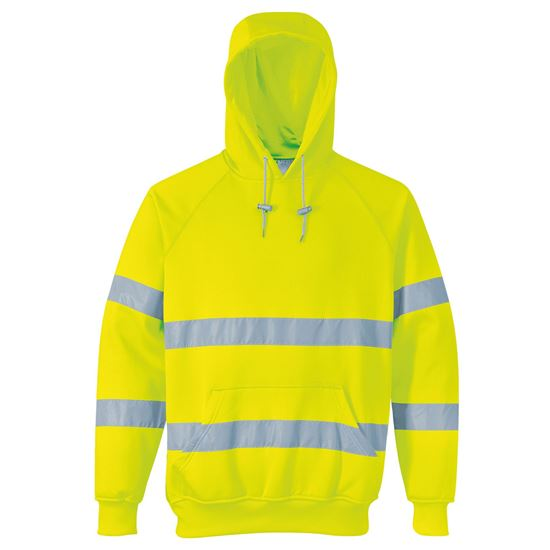 Picture of HIGH VISIBILITY HOODED SWEATSHIRT - PW337