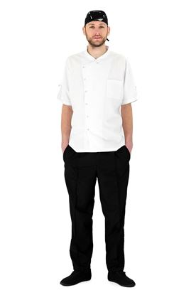 Picture of Chef's Easy Fit Black Trouser