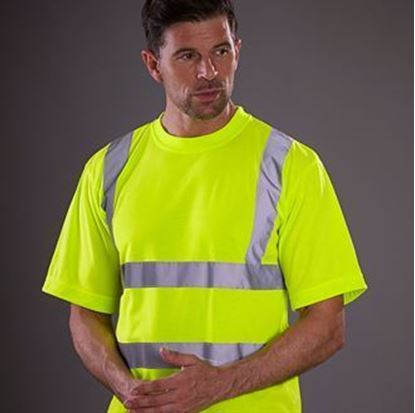 Picture of Hi Vis Short Sleeve T Shirt -YK025-