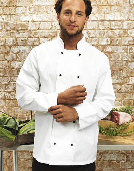 Picture of Cuisine Long Sleeve Chef Jacket -PR661- SPECIAL OFFER