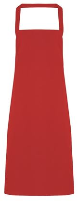 Picture of Long Bib Apron (No Pocket) PR102 -SPECIAL OFFER-