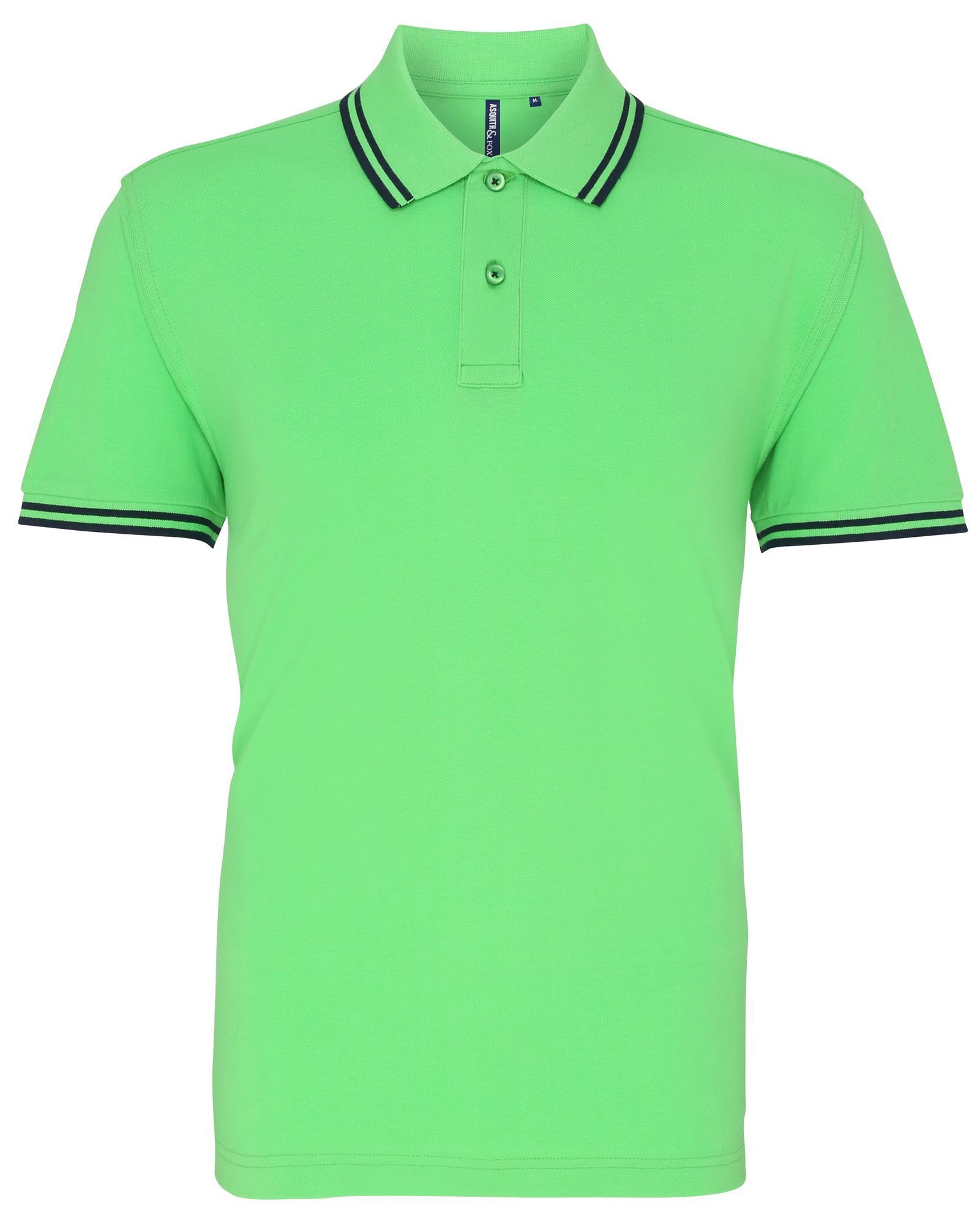 United Work Wear Tipped Polo Shirt