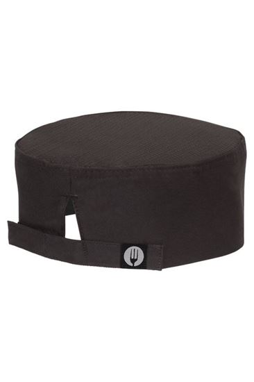 Picture of Cool Vent Chef's Black Cap