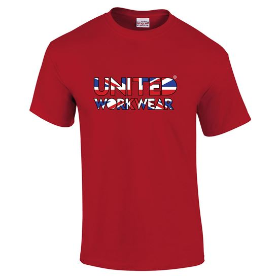 Picture of UNTD Union Jack Premium Workwear Cotton Tee